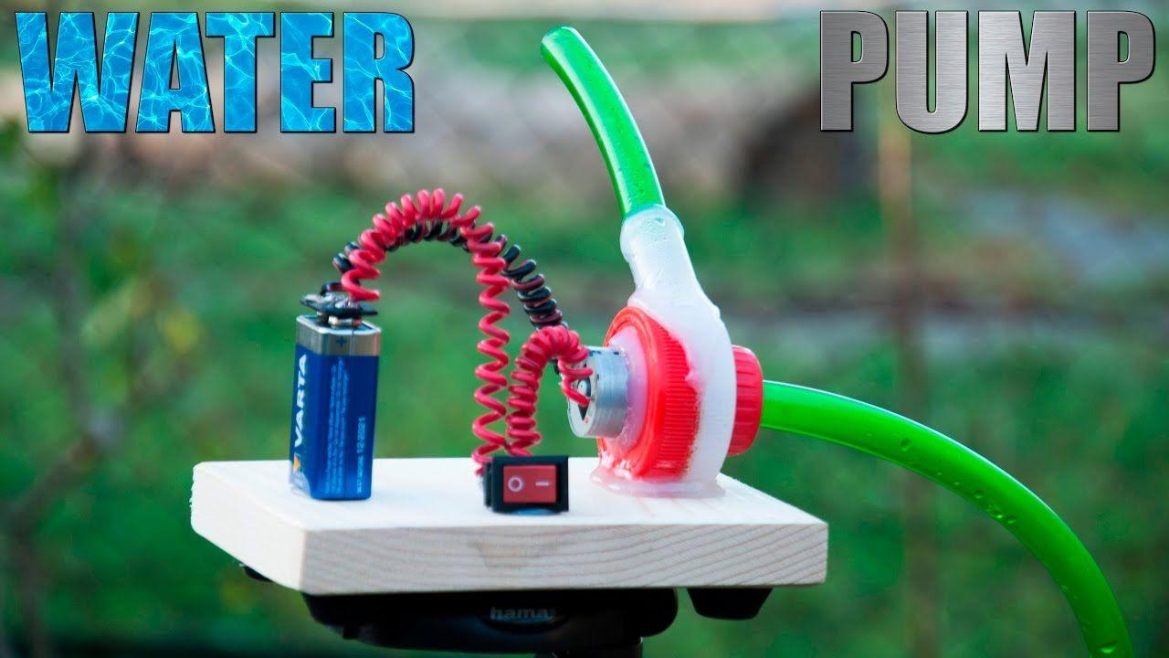 How To Make A Water Pump Water Turbine Diy Ideas Diy