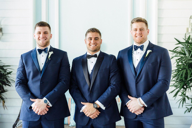 Watt ? NFL couple destination wedding in Miami