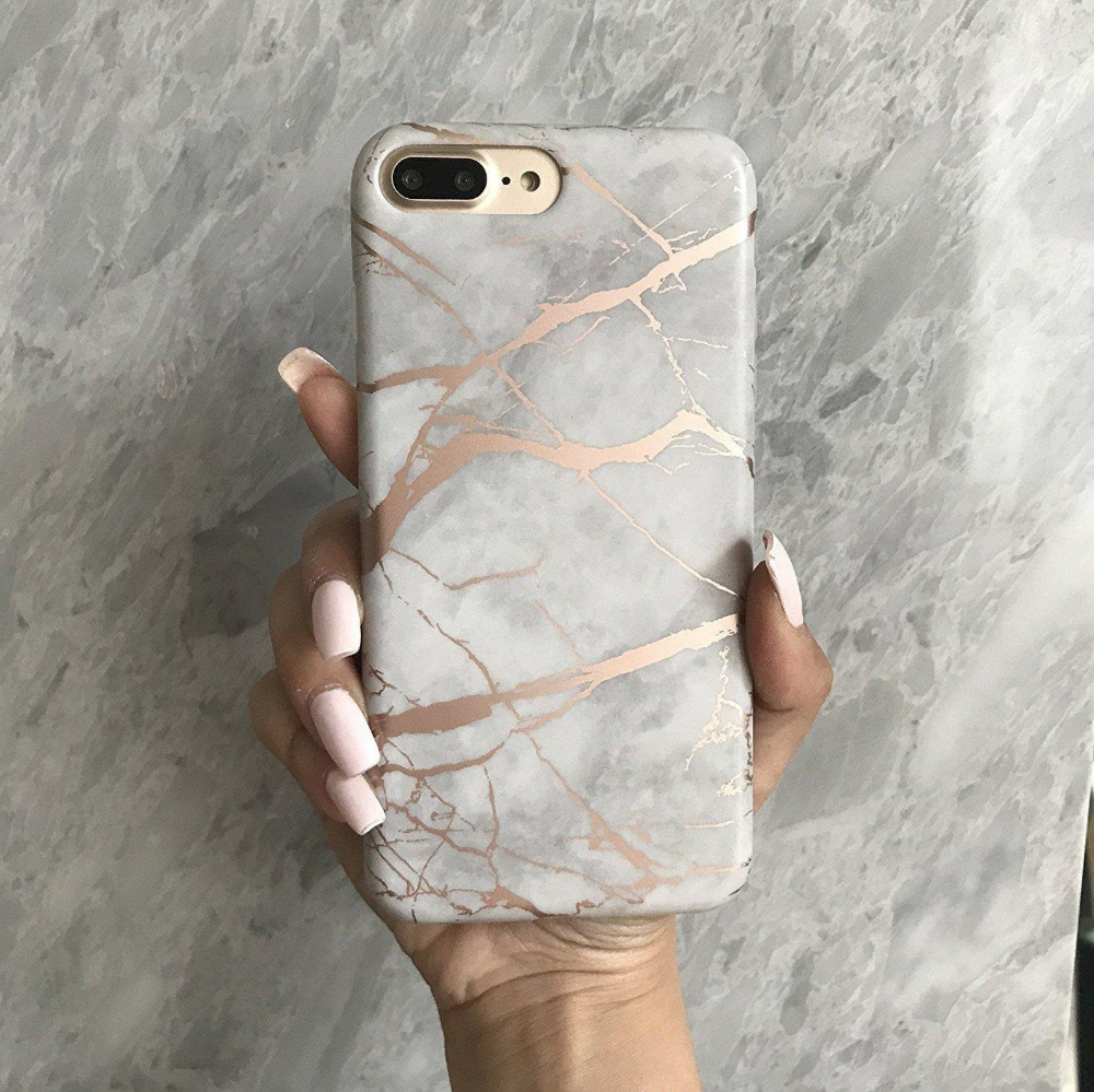 Rose Marble Phone Case, Rose Gold Reflective,iphone 6 case