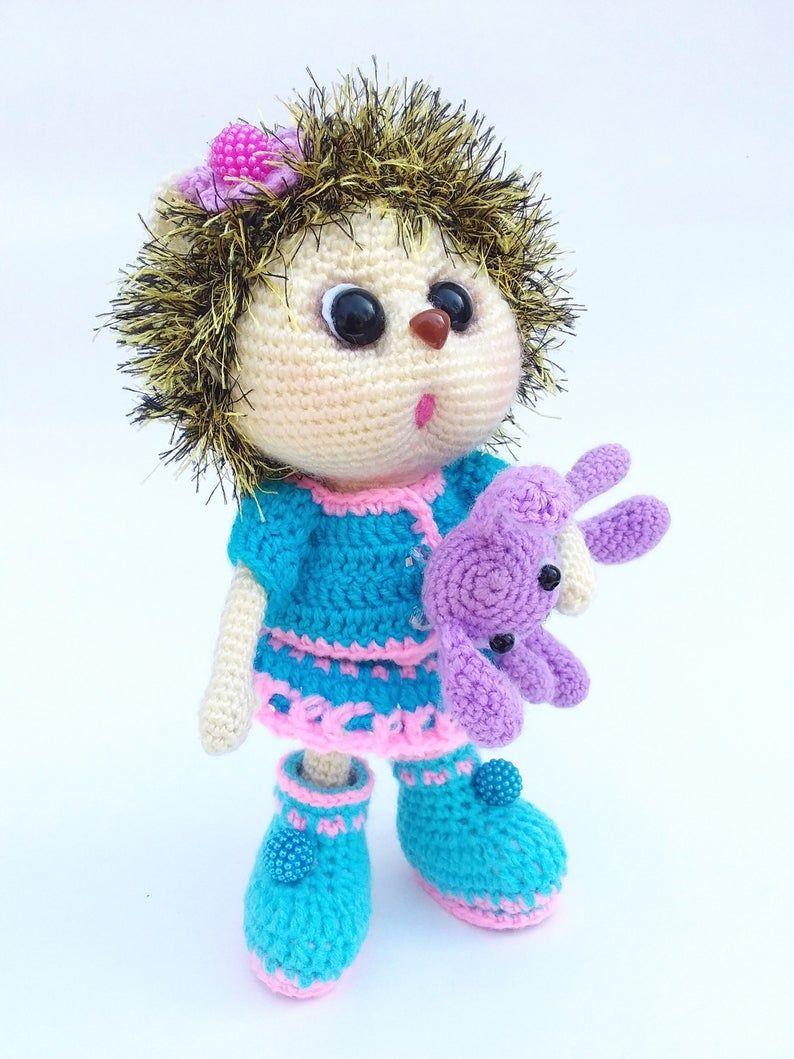 Crochet hedgehog, knit hedgehog, hedgehog gift, hedgehog decor,hedgehog toys, stuff ed hedgehog, hedgehog, hedgehog stuff, Easter decor