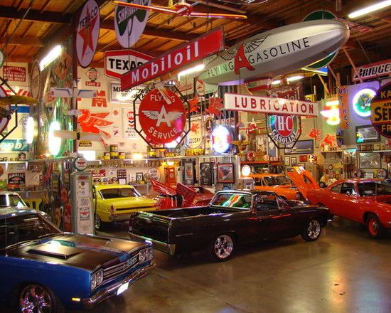 ultimate garage 25,000 sq ft. | Ultimate garage, Cool ...