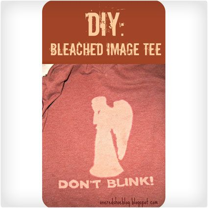 Bleached Image Tee