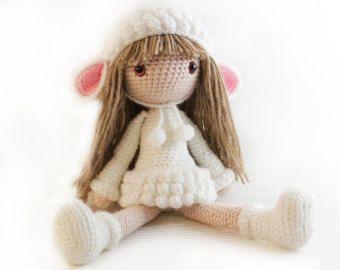 Crochet Pattern Doll : Pattern : doll crochet pattern amigurumi doll by anatillea