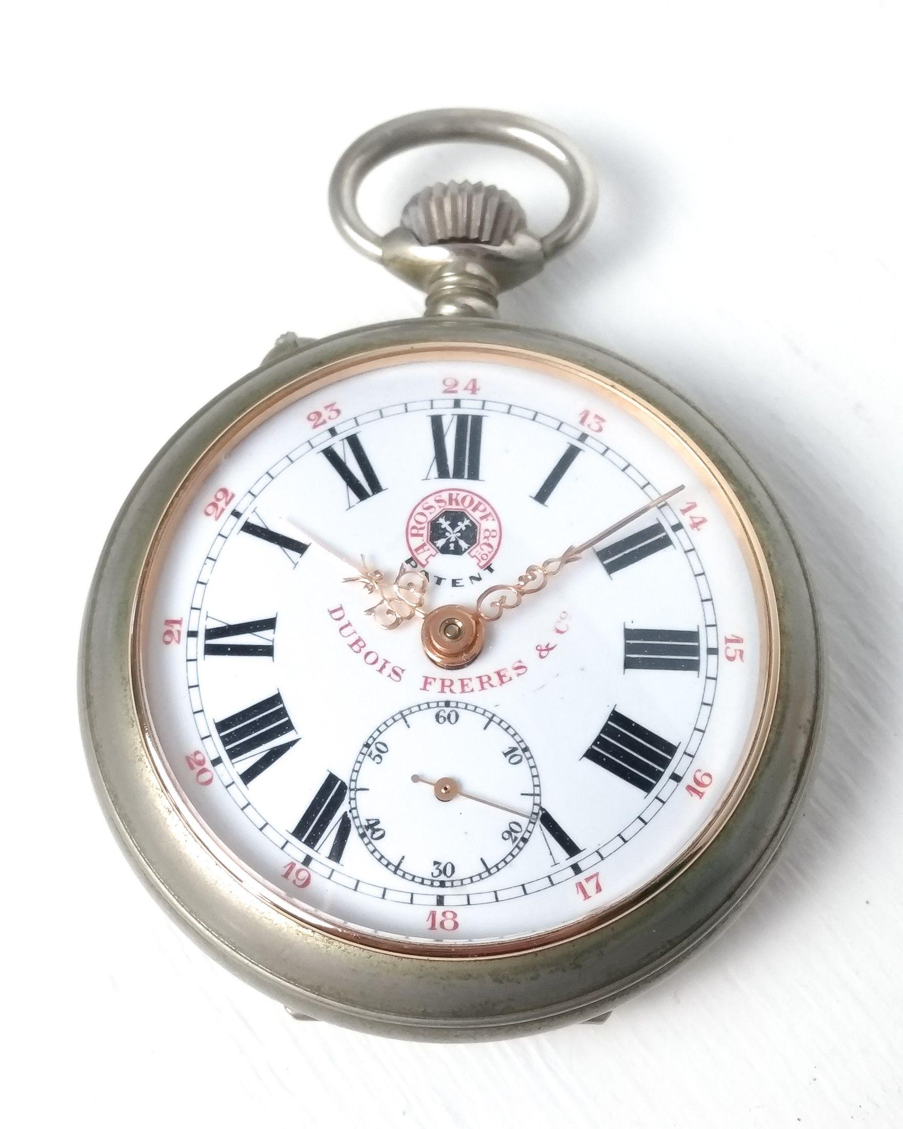 Orologio da tasca ROSSKOPF Dubois Freres & Co. Movimento