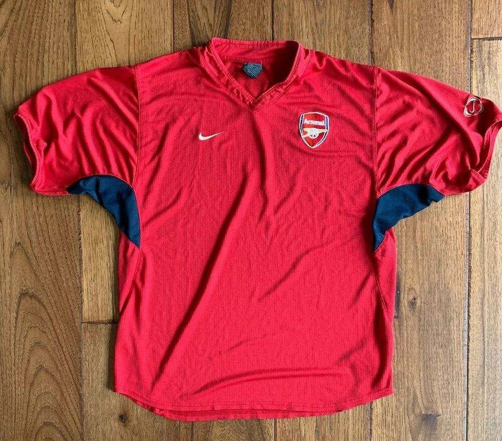new product dedc2 4f7b7 Nike Dri-Fit Arsenal Invincibles Soccer Training Shirt Mens ...