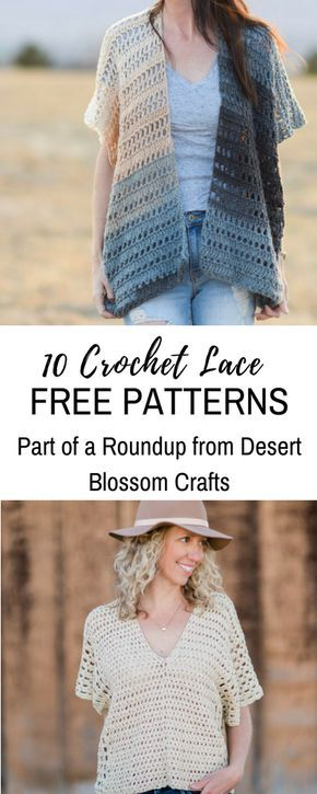 10 Free Crochet Lace Patterns That Will Keep You In Style