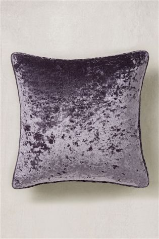 Buy Luxury Crushed Velvet Cushion From The Next Uk Online Shop Viola