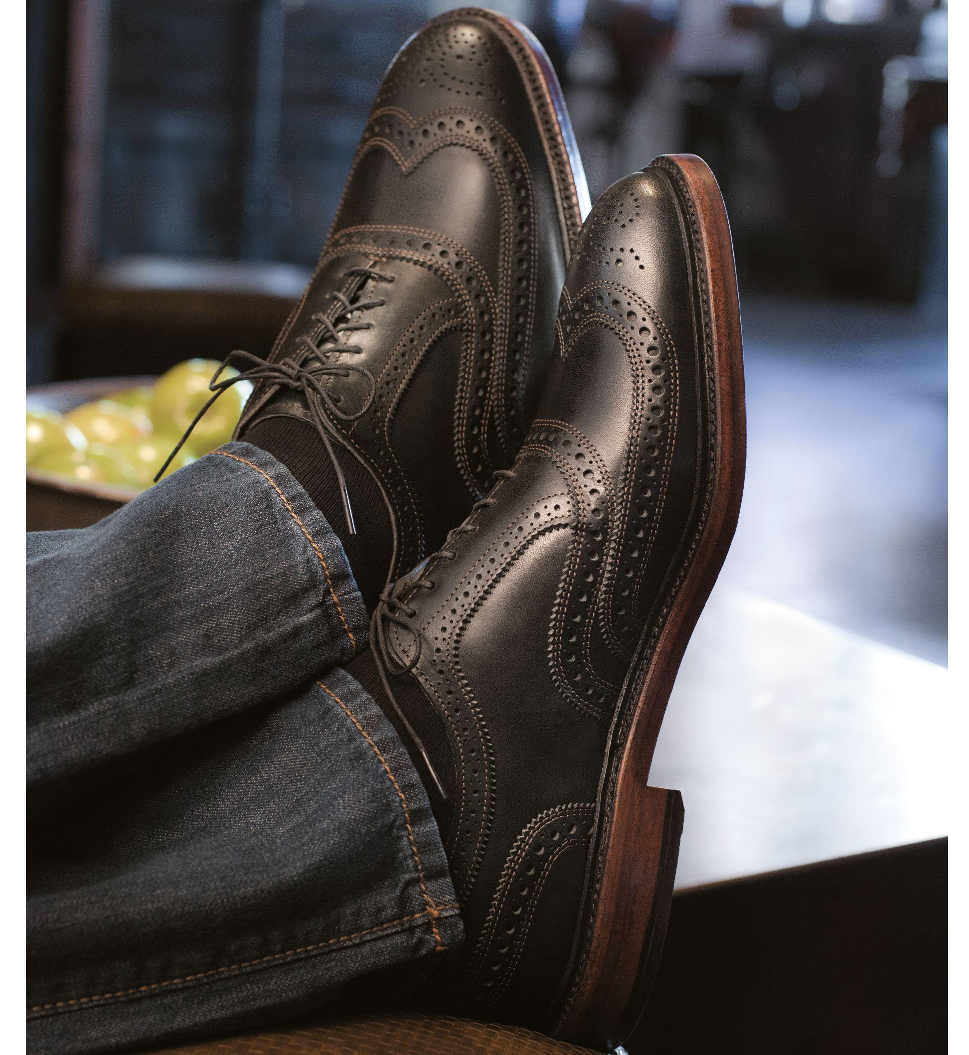 The Allen Edmund McTavish wing tip shoe