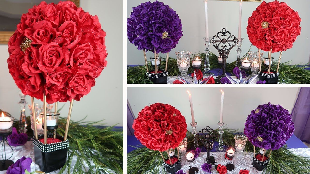 Wedding decorations dollar tree  DIY Centerpiece  Come Fly Away with Me on the Winds of Love