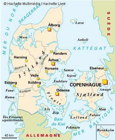 danemark #map #carte #denmark | Copenhagen. Denmark | Pinterest