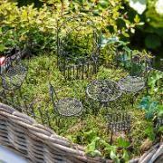 Mini Salon de jardin Kit de base, 10 pièces – couleur rouille ...