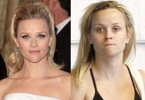 Famous Actresses Without Makeup Reese Witherspoon Without Makeup Photos Famous Actors And Ac Actrice Sans Maquillage Photo Maquillage Stars Sans Maquillage