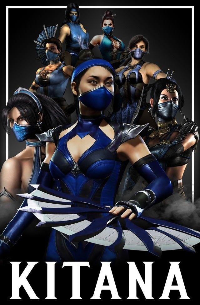 Kitana Evolucao Kitana Mortal Kombat Mortal Kombat Art