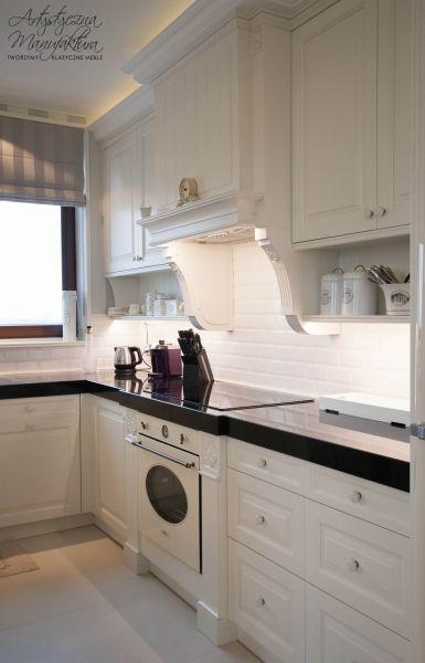 widok na stanowisko piecowe kuchnia prowansalska, kuchnie   -> Kuchnie Angielskie Bialystok
