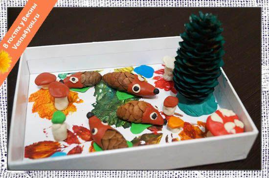 Осенние поделки в садик - Развивающие игрушки и поделки для <em>карандашом</em> детей своими руками - В гостях у Весны - В гостях у Весны