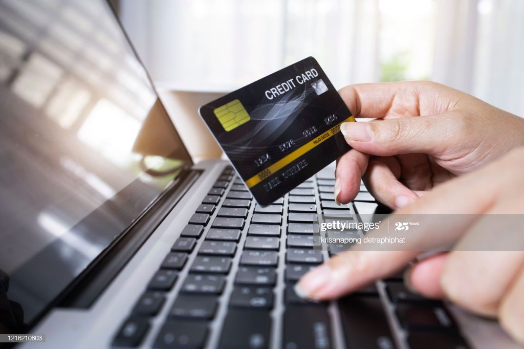 Hand Of A Man Holding Credit Card Making Business Payment Transaction Credit Card Card Making Cards