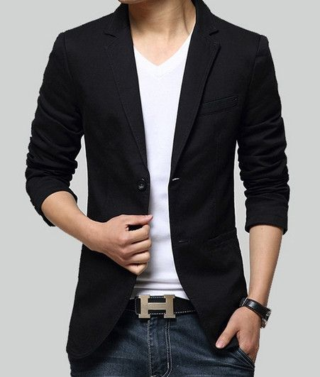 e2188f641ec15 Men Casual Sports Jacket in Khaki or Black. This Men Blazer is casual and  suits for your everyday wear. Buy direct and save $20. Reg $69.95. Now  $49.95!