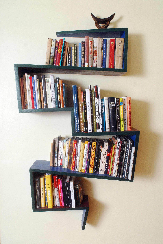 Zig Zag Bookshelf
