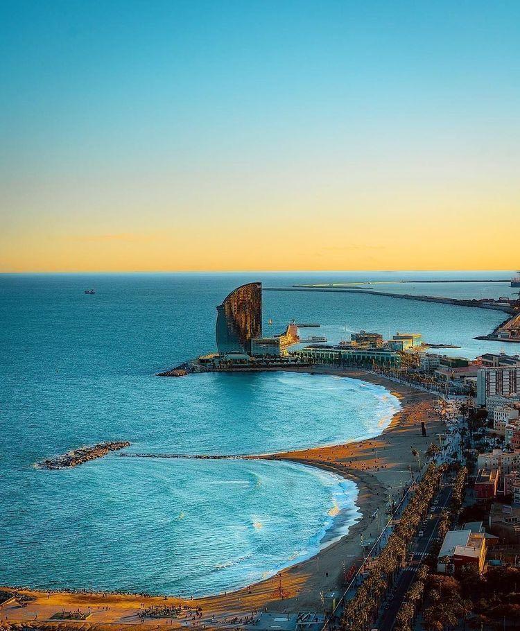 Barcelona catslunya spain em 2020 lugares espanha