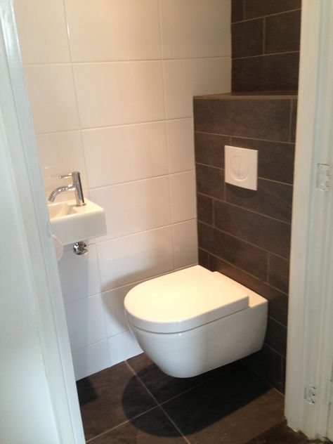 toilet verbouwen google zoeken home badezimmer wc ideen und g ste wc. Black Bedroom Furniture Sets. Home Design Ideas