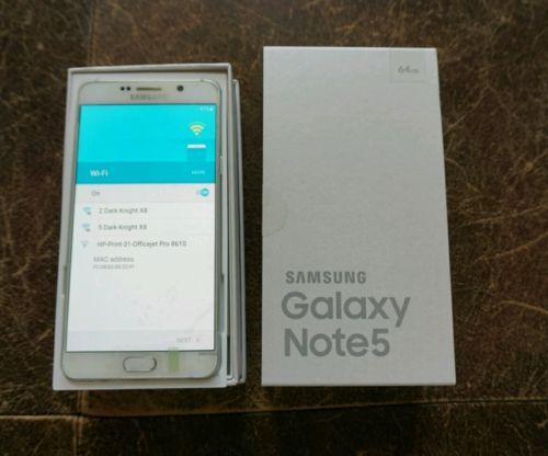 Samsung Galaxy Note5 SM-N920 - 64GB - White Pearl (Sprint) Smartphone https://t.co/PnEgjU5Yb6 https://t.co/8V5CMRSAlG