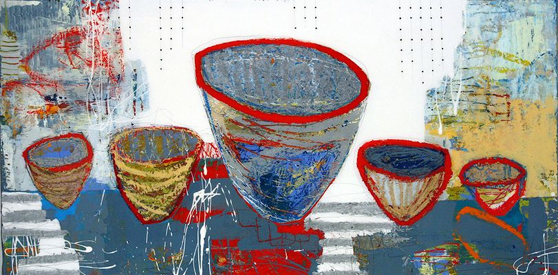 Jylian Gustlin - Contemporary Artist - FIgurative Painting - Vessels