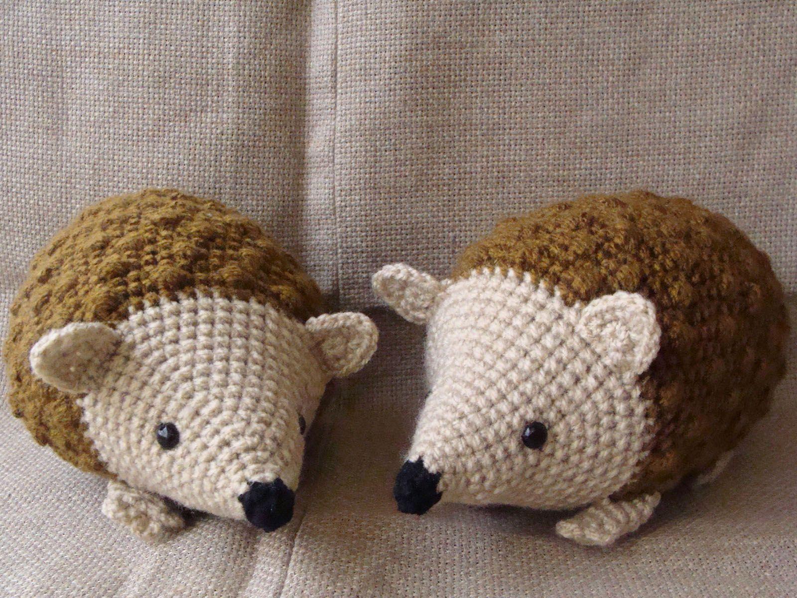 Amigurumis Caballitos A Crochet : Erizo tejido al crochet amigurumis amigurumi and