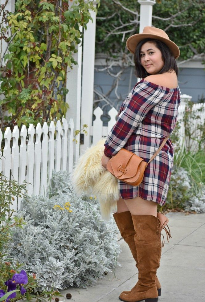 """Faux suede 18"""" wide calf over-the-knee boots for spring!  -- fashion to figure country girl boots"""