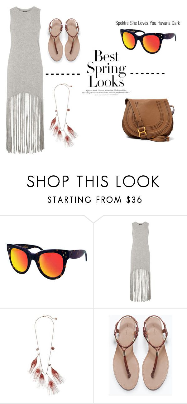 """""""Looking forward to Spring!"""" by visiondirect ❤ liked on Polyvore featuring H&M, Spektre, Topshop, Betsey Johnson, Zara, Chloé, Spring and Shelovesyou"""