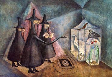 Leonora Carrington (British 1917 – 2011)   Visionary Art Culture