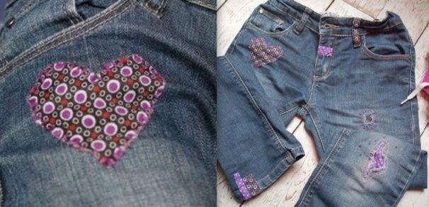 astuce r parer un jean trou tutoriels diy pinterest reparer jeans et astuces. Black Bedroom Furniture Sets. Home Design Ideas