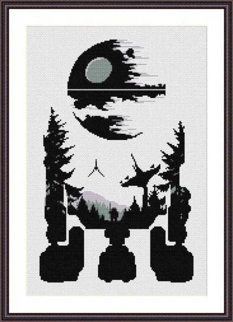 Star Wars Cross Stitch PDF pattern R2D2 | Let\'s Sew | Pinterest ...