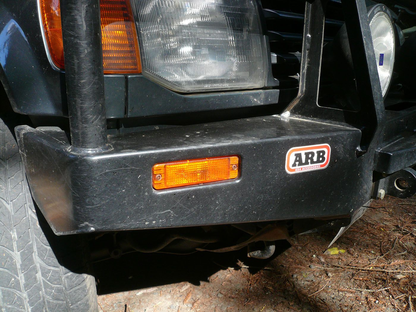 Replacing and waterproofing arb bumper turn signals bumpers ive been very happy with my arb bull bar bumper and its on board turn signals except for the fact that theyre not waterproof aloadofball Choice Image