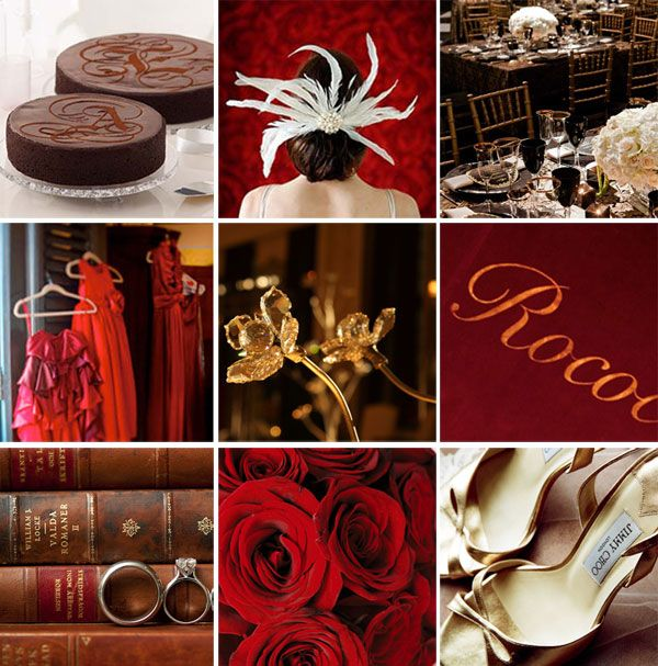 Orange And Red Wedding Colors Color Palette Garden Red Green And