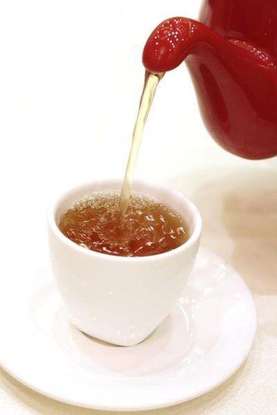 Spearmint tea for facial hair something also