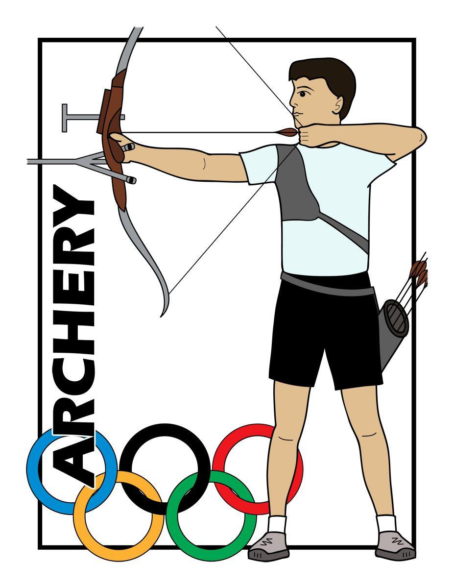 clip art summer olympics event illustrations swimming b w rh pinterest com Tennis Ball Clip Art Cute Tennis Clip Art
