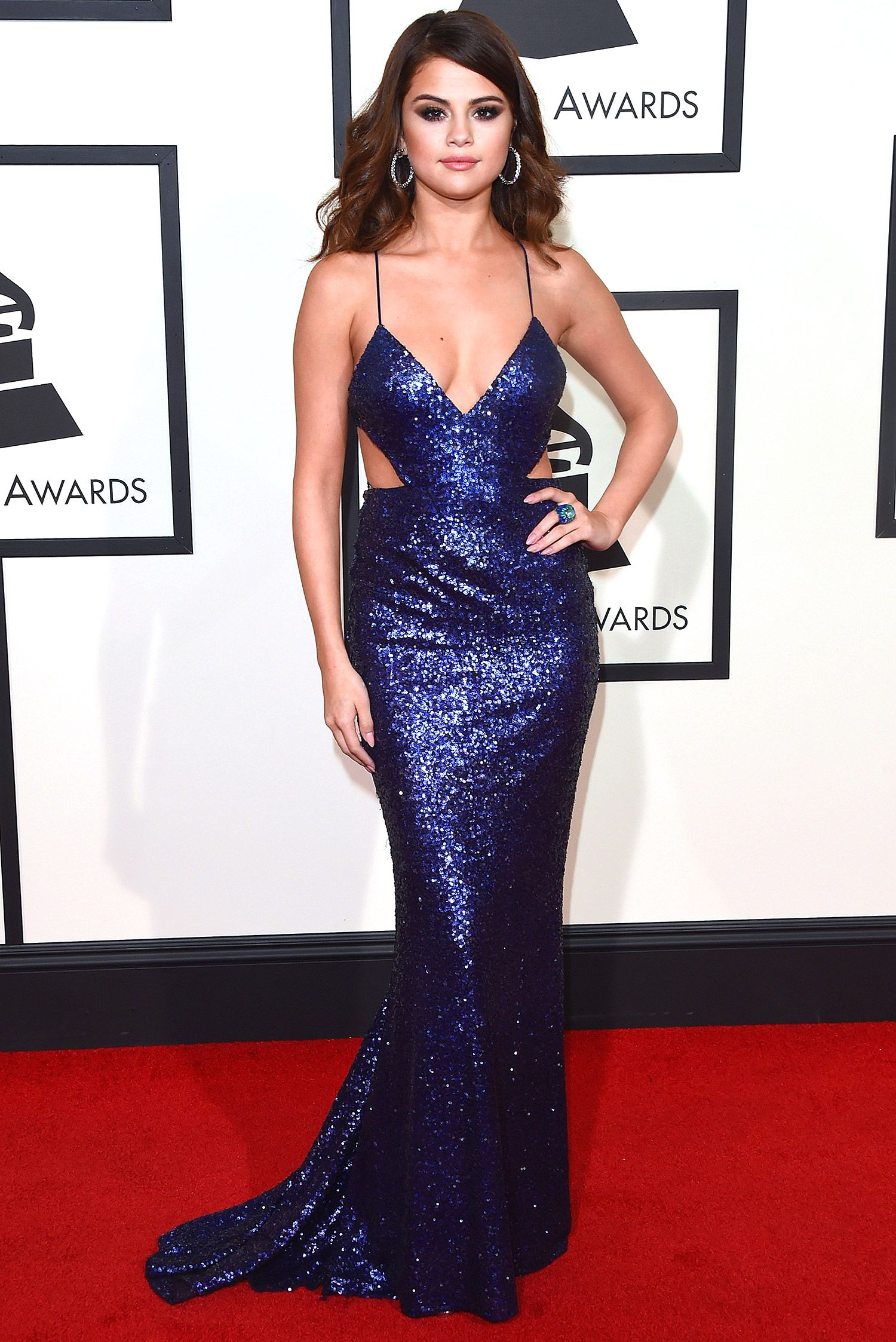 The Statement-Making Grammys Gowns You\'ve Gotta See | Selena gomez ...