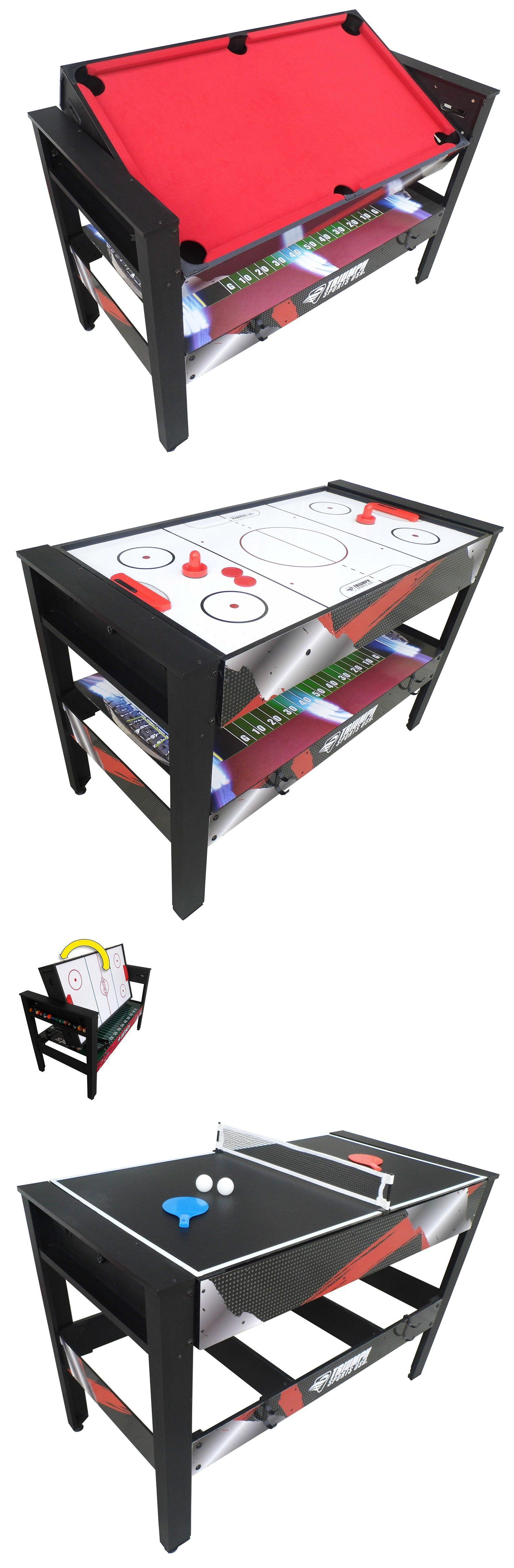 Tables 97075: 4 In 1 Gametable Swivel Multi Table Game Tables Games Gaming  Pool For