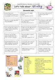 English worksheet: Let´s talk about MONEY | esl resources ...