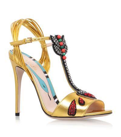 4e6ba212f GUCCI Allie T-Bar Sandals 110. #gucci #shoes # | Gucci | Designer ...