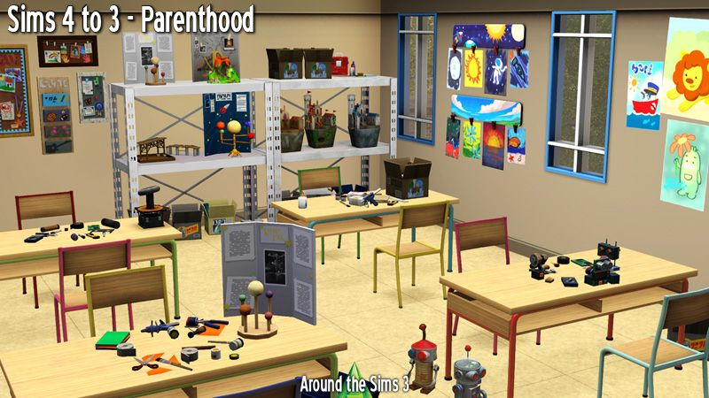 Around The Sims 3 Custom Content Downloads Objects Kids