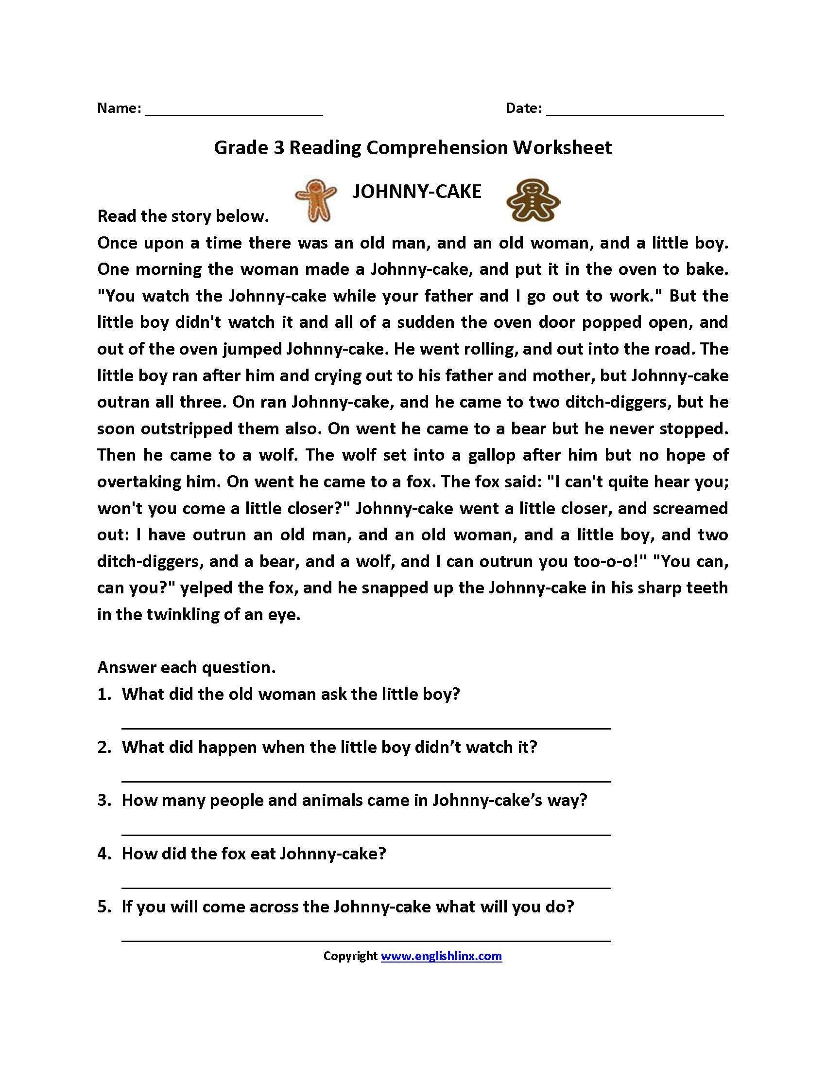 medium resolution of 5 Reading Reading Comprehension 9 11 reading prehens…   Third grade reading  worksheets