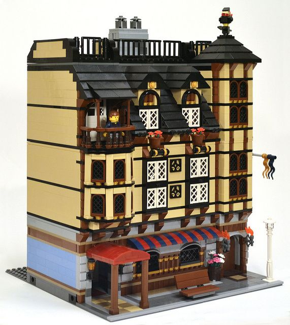 Modular Market Village by SonicStarlight | LEGO Architecture ...