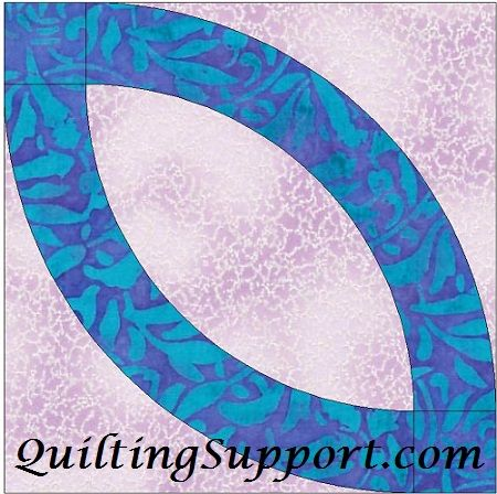 Free Wedding Ring Quilting Pattern | Quilting Support | Pinterest ... : free wedding ring quilt pattern - Adamdwight.com