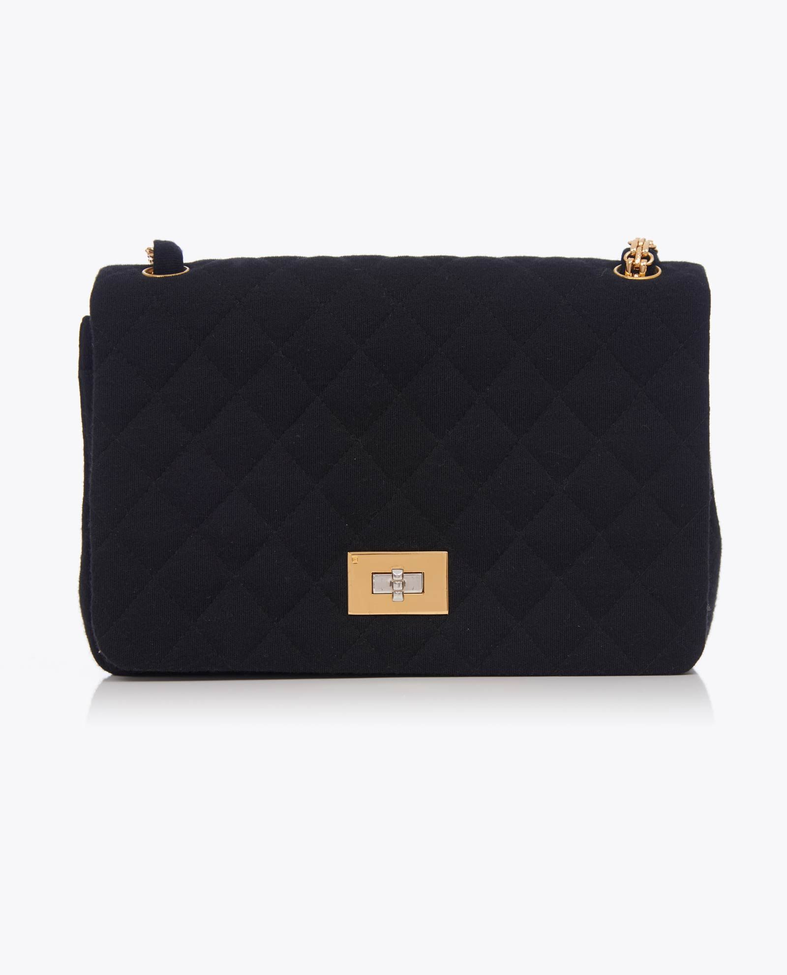 66cd65ea6824 Vintage Chanel Reissue 2.55 Jersey Flap Bag | Chanel Bags | Chanel ...