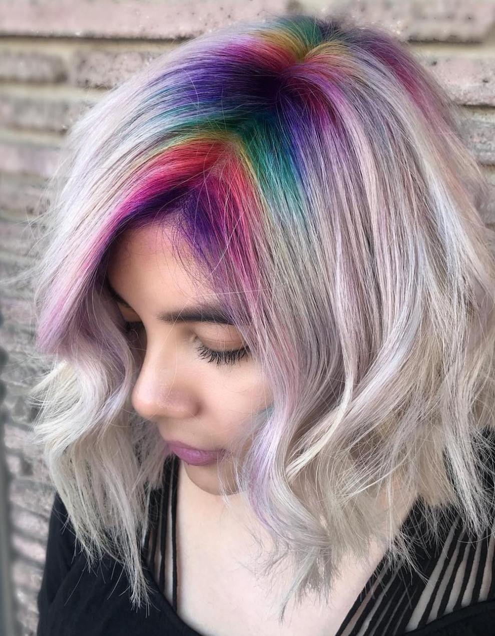 47++ Vivid roots hair color ideas