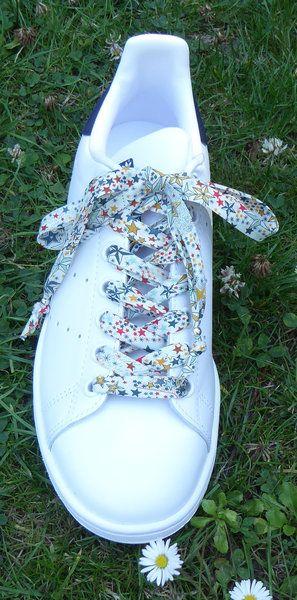 Personnalisez vos baskets en créant des lacets Liberty | Oui Are Makers