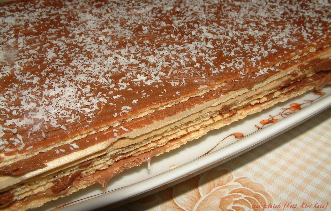 Csokikrémes nápolyitorta (Fotó: Kéri Kata)