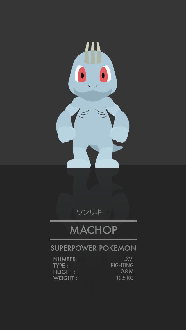 Machop by WEAPONIX on DeviantArt