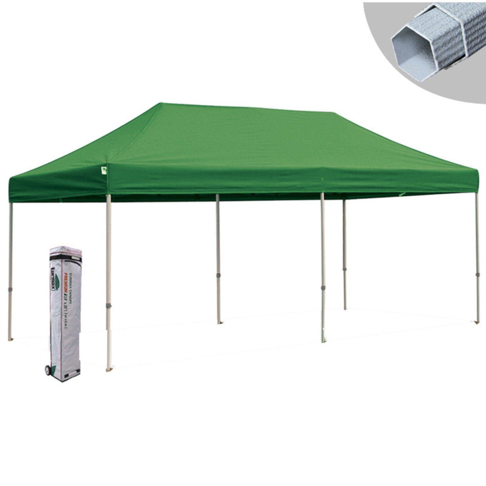 Eurmax Canopy Inc Premium 10 x 20 ft. PopUp Canopy Kelly